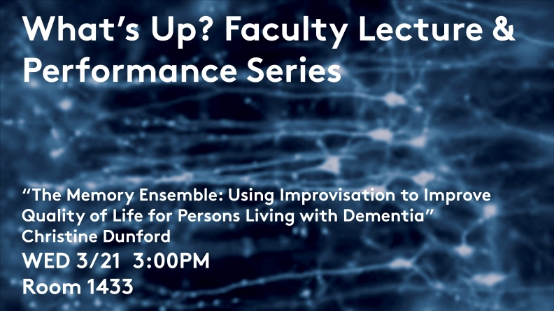 What's Up? Lecture Series: The Memory Ensemble